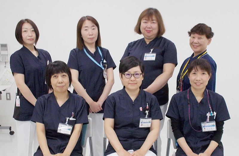 向陽ヶ丘病院 看護部門