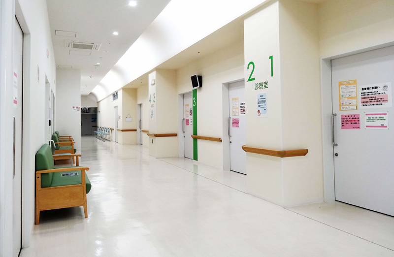 病院の様子
