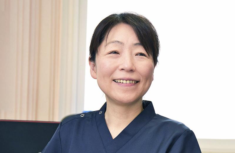 看護部長 中野 香寿子