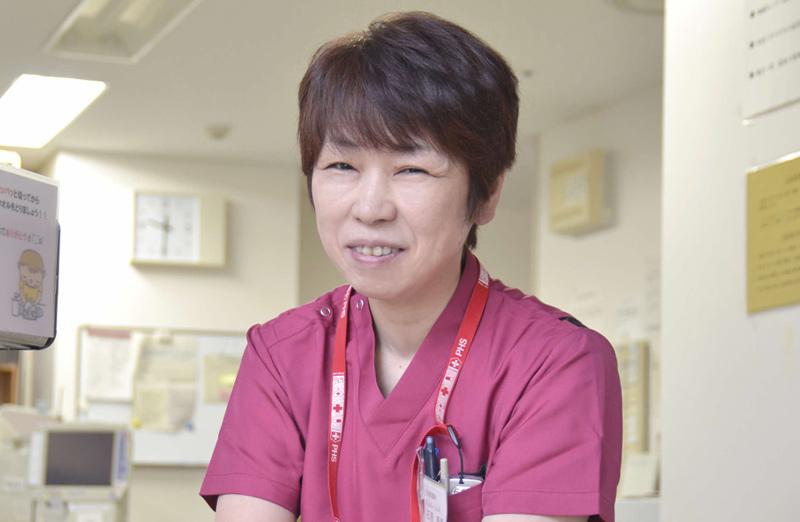 主任看護師 石原 寿恵