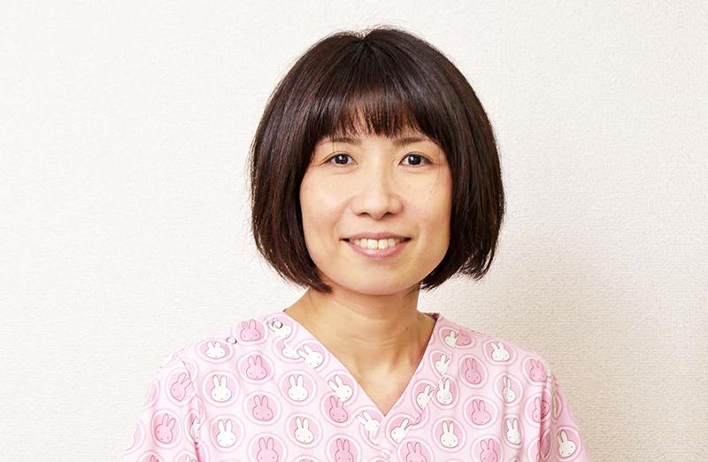 感染管理認定看護師 及川 明子