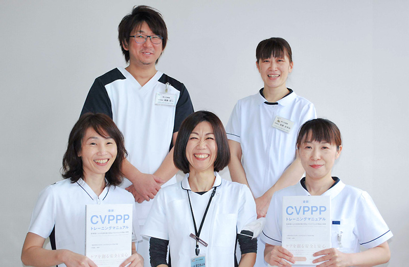 指導主任看護師 CVPPPトレーナー 安江きよみ
