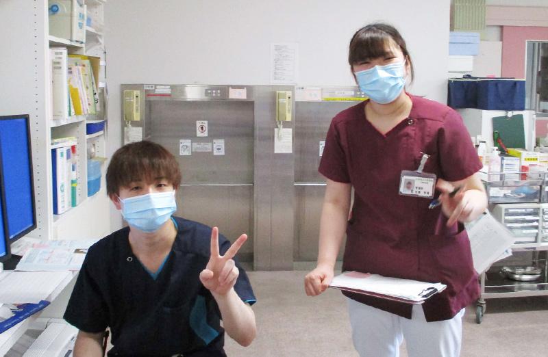 江差病院 看護部門 日常の様子